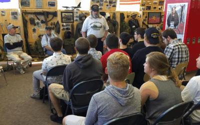Veterans speak to Neenah High School students