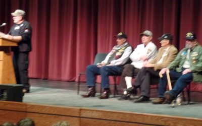 Vietnam vets visit local students at Seymour High – May 8, 2015