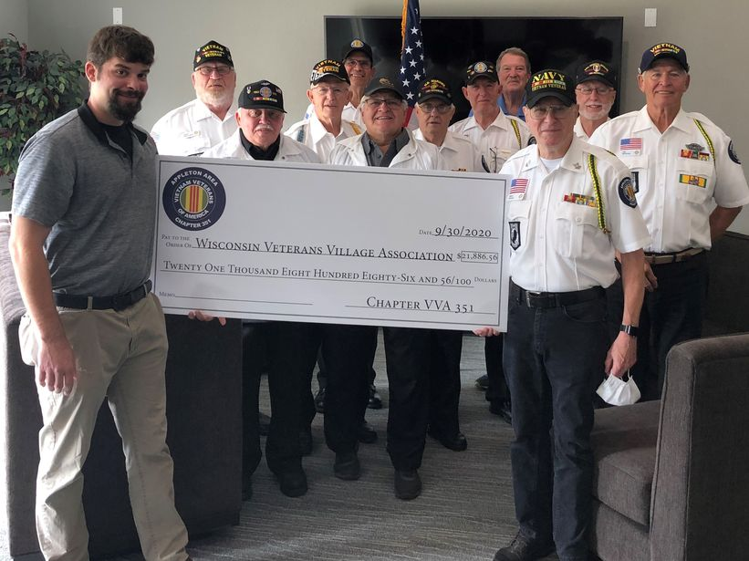 POW-MIA Fundraiser and Veterans Village Volunteers Raised $21,886.56